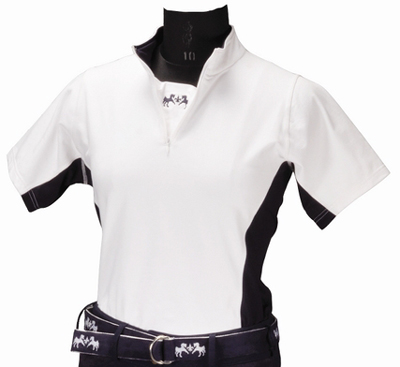 Equine Couture Ladies Sportif Technical Shirt (Short Sleeves)