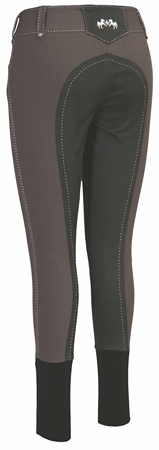 Equine Couture Ladies Blakely Full Seat Breeches w/ Contrast Saddle Stitch