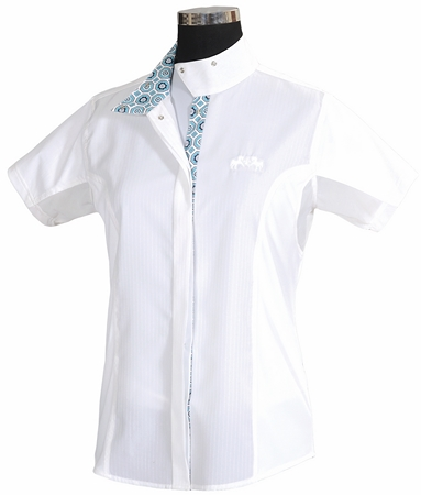 Equine Couture Ladies Kelsey Short Sleeve Show Shirt