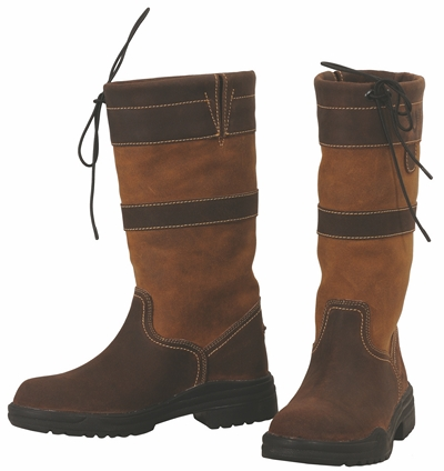 TuffRider Ladies Low Country Waterproof Boot - Short